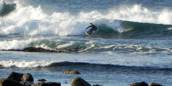 surfing at magheroarty