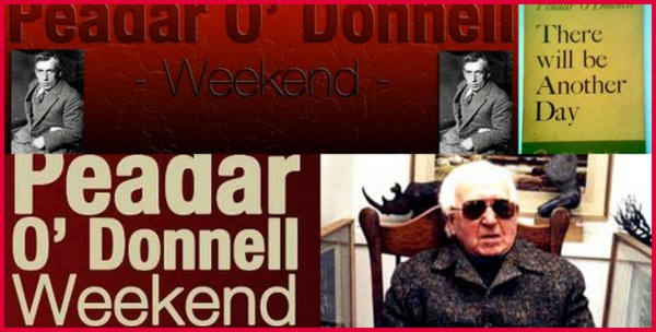 Peadar O'Donnell Weekend