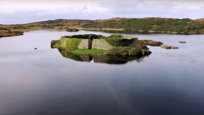Lough Doon Ring Fort Donegal