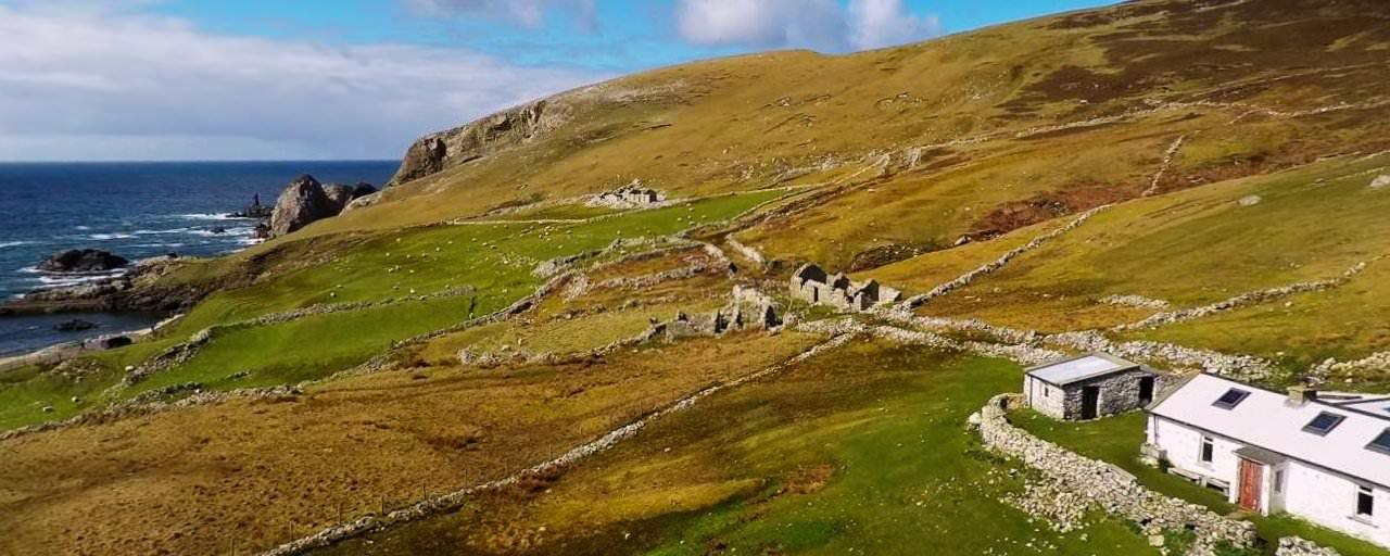 Port Famine Village Donegal