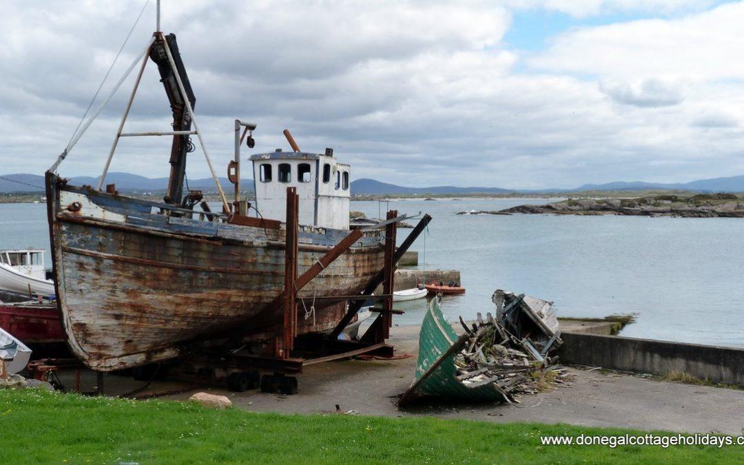 Aranmore Island Fishing Boat