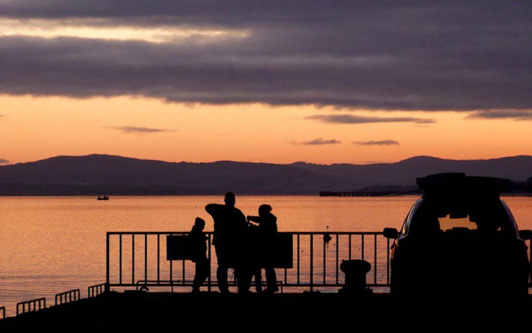 Sunset on Lough Swilly