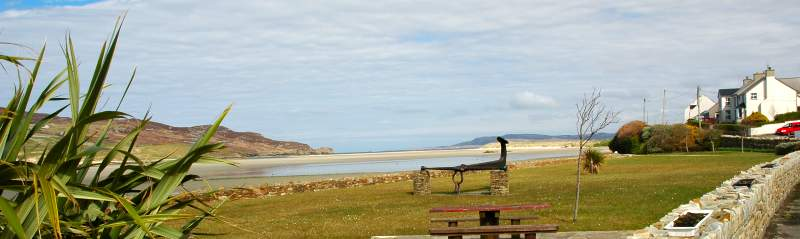 Clara Cottage No.2 is only a 5 minute walk from the beach at Dunfanaghy