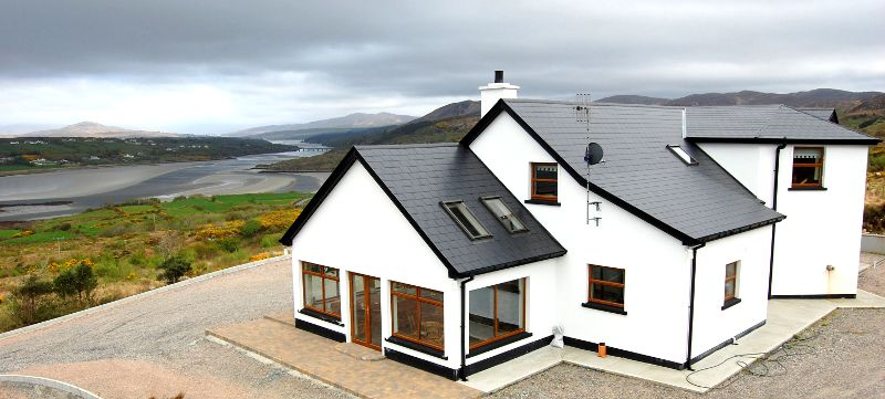 Gweebarra Lodge Holiday Cottage Glenties Donegal Ireland