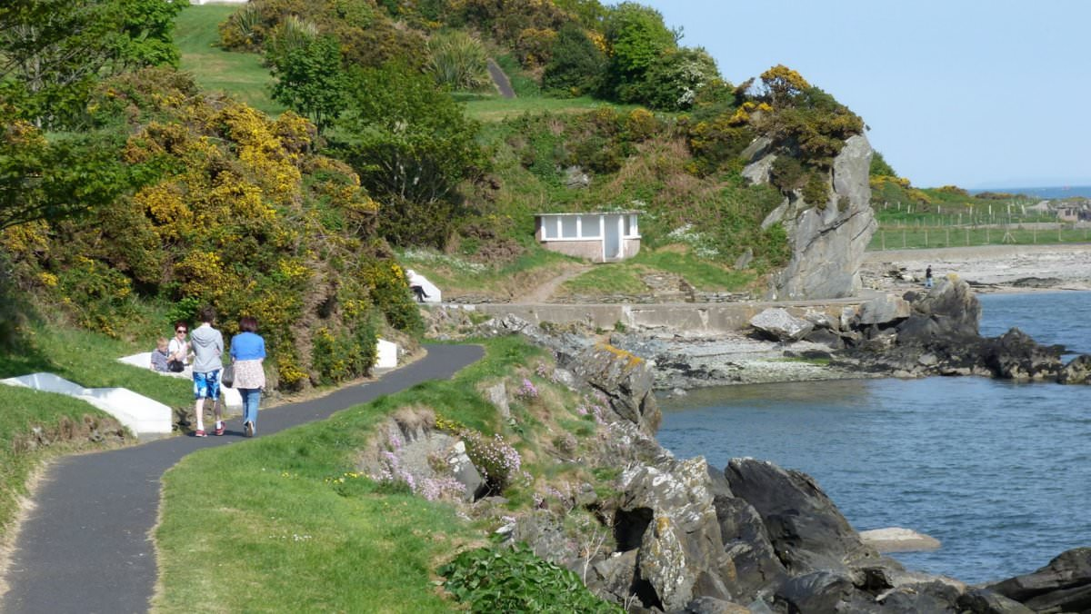 Moville To Greencastle Shore Path Donegal Cottages