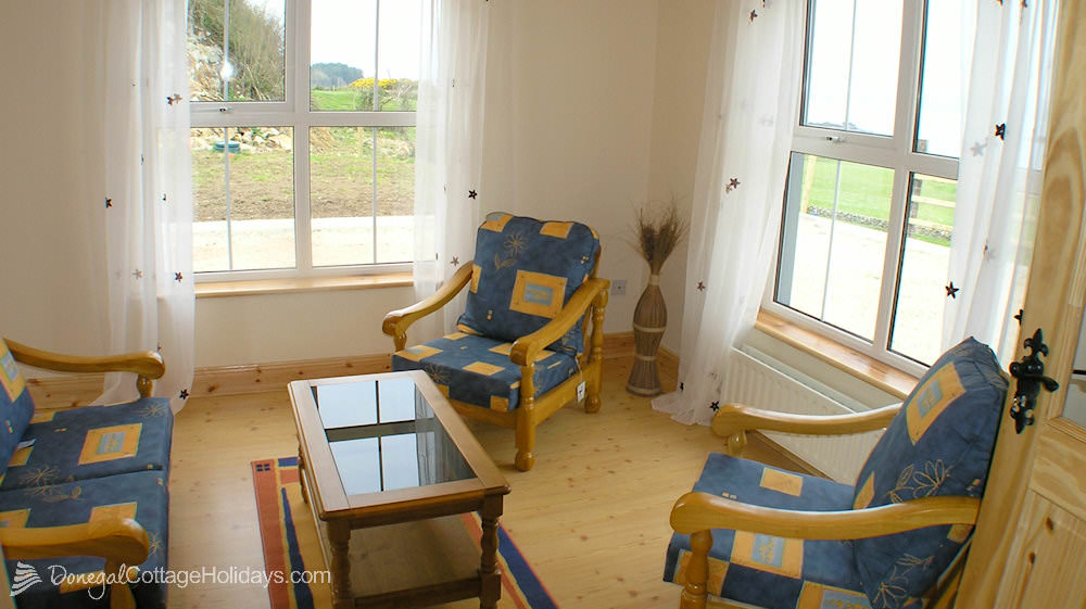 Otway Cottages Donegal - sunroom