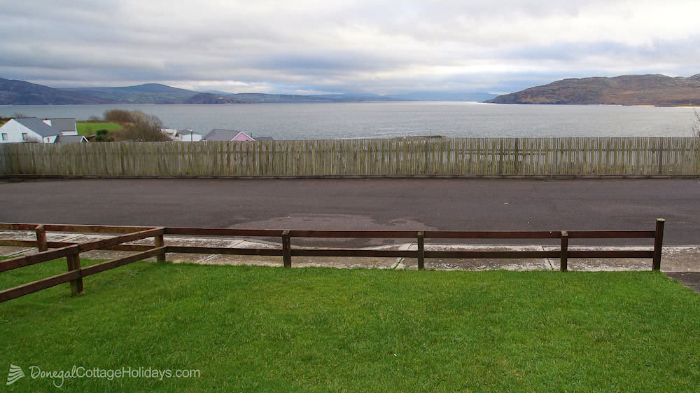 No 4 Cooey Na Gaal Portsalon - view over Lough Swilly