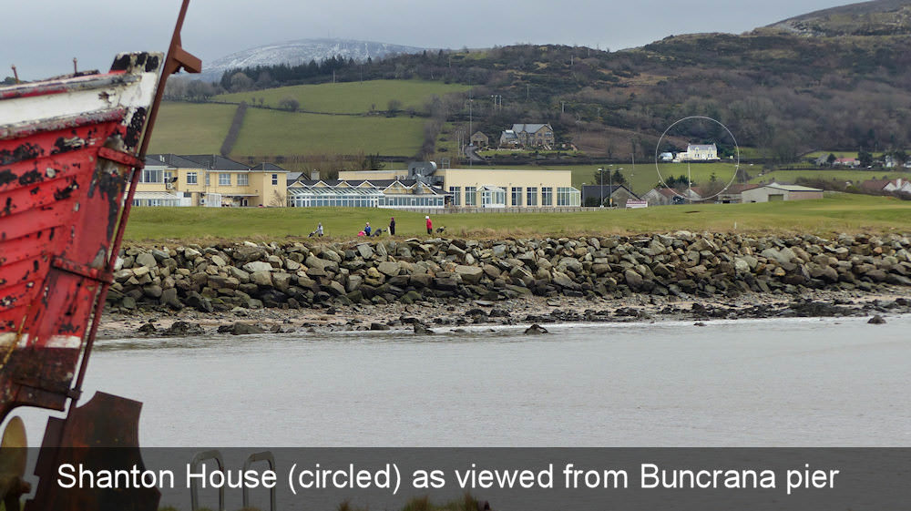 Shanton Self Catering Buncrana - overlooking Buncrana pier