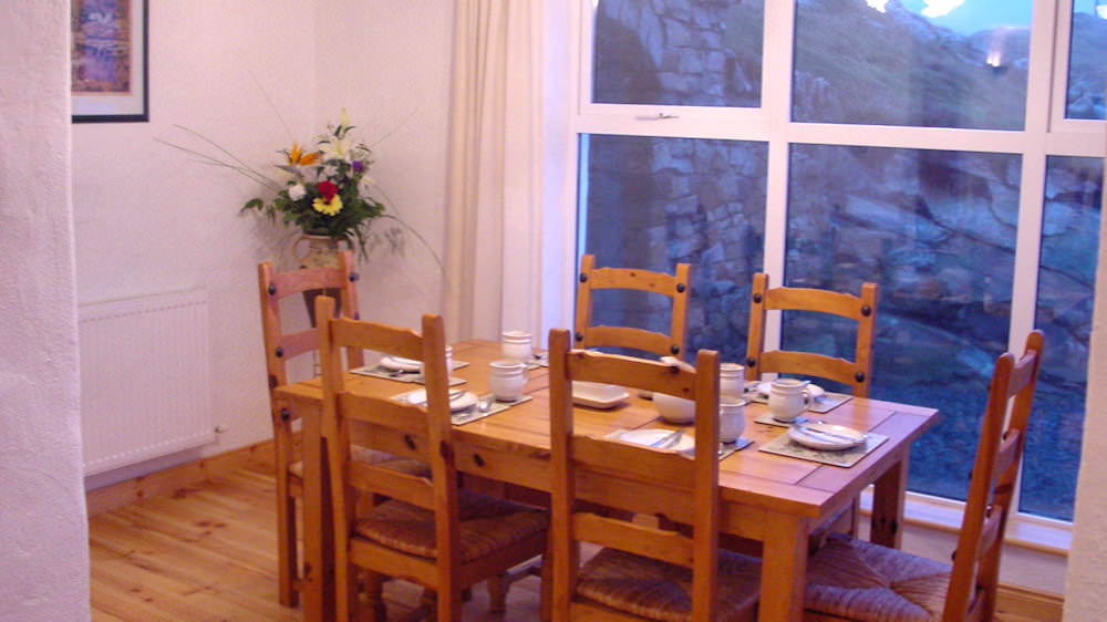 Crohy Cottage Falmore Dungloe - dining area