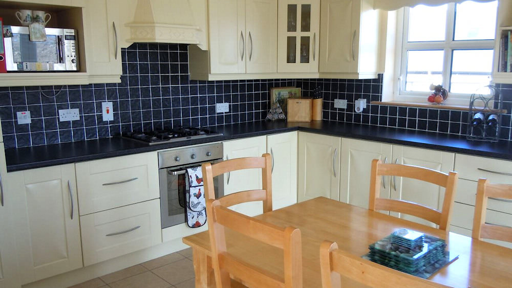Kitchen of Sea View Magheroarty
