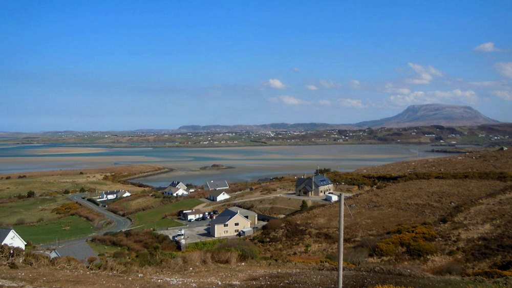 View from Sea View Magheroarty