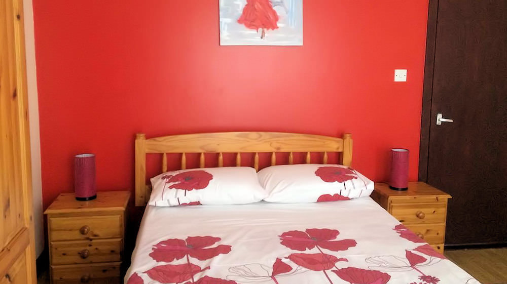 Holiday Home at Killult Falcarragh - Master bedroom