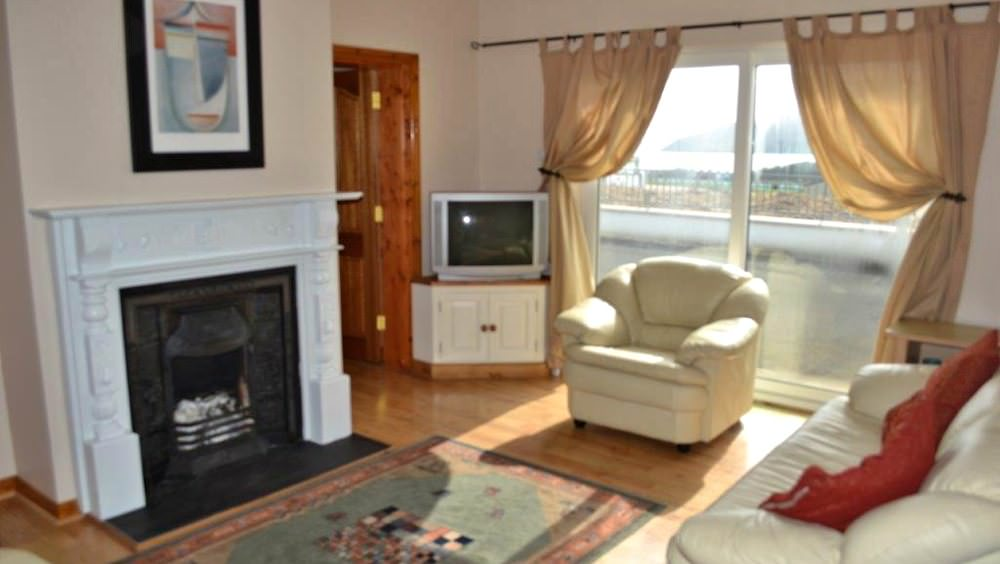 Cluain Mor House Portsalon - living room