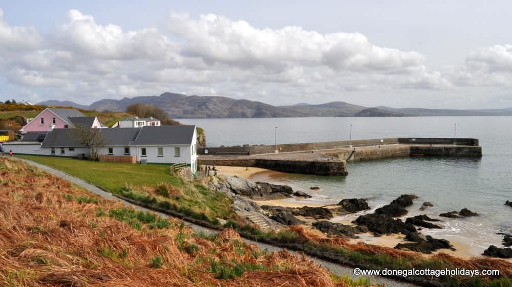 Cluain Mor House Portsalon - harbour area
