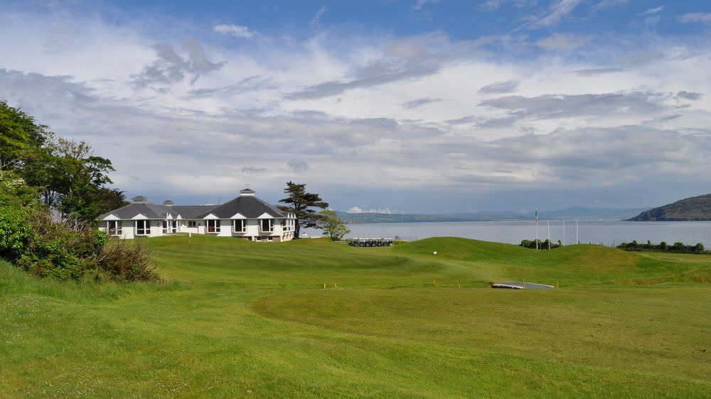 Cluain Mor House Portsalon - overlooking golf course