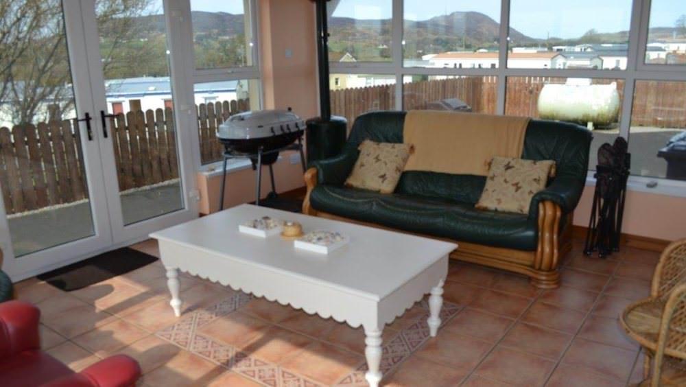 Cluain Mor House Portsalon - sunroom