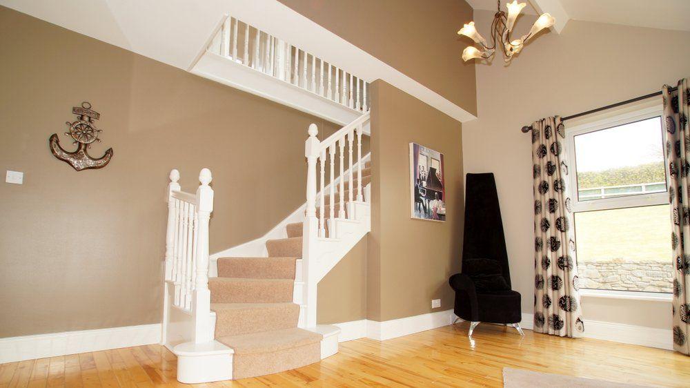 Donrone House Rossnowlagh - entrance hallway