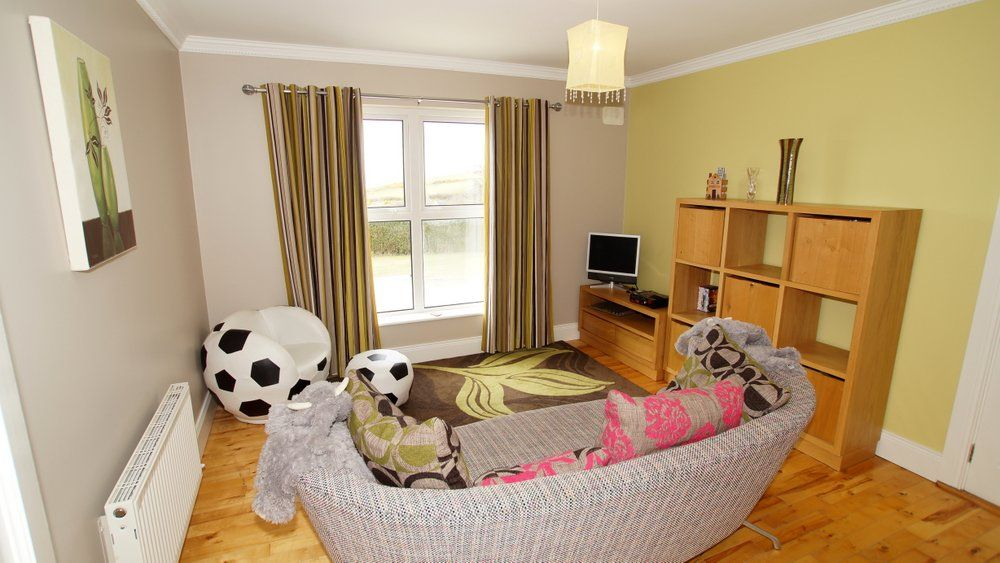 Donrone House Rossnowlagh - living area