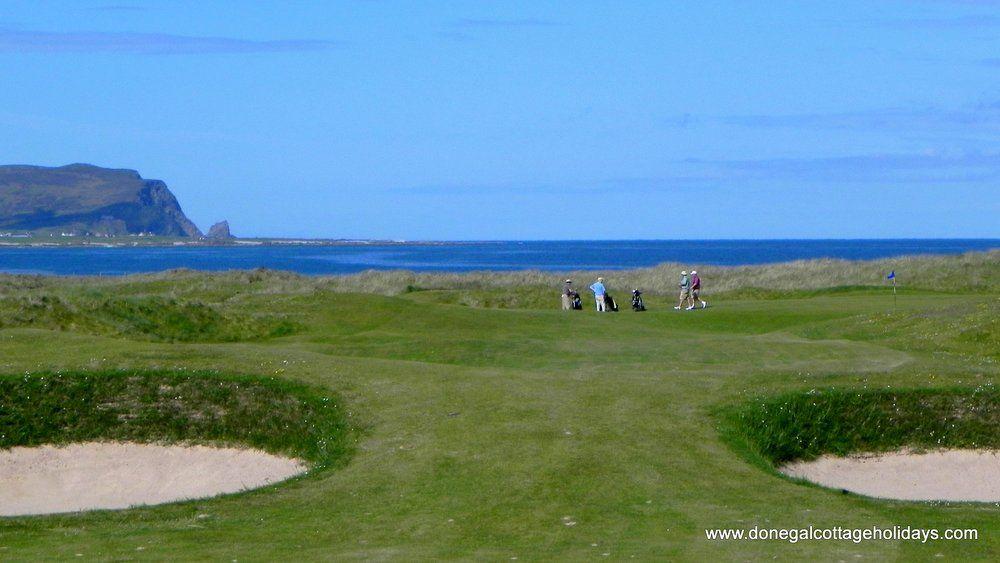 Aughrim Cottage Ballyliffin - golf course