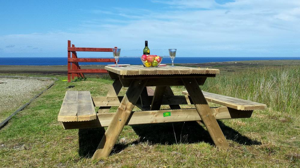 PICNIC TABLE AT ATLANTIC VIEW