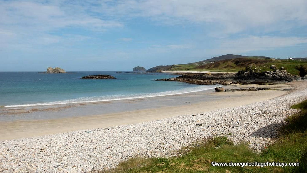Buliban Cottage Malin Head Inishowen - raised beach