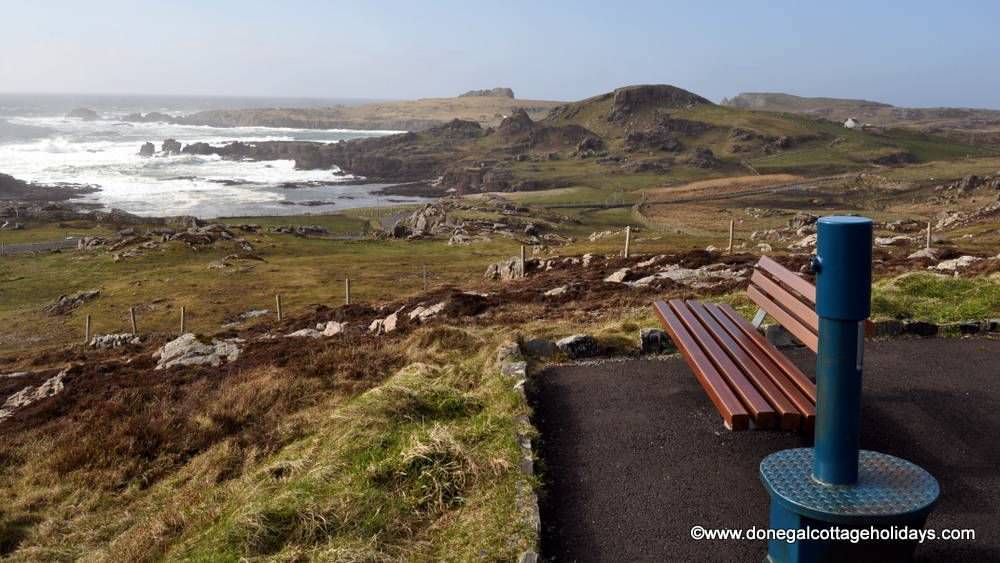 Buliban Cottage Malin Head Inishowen - view