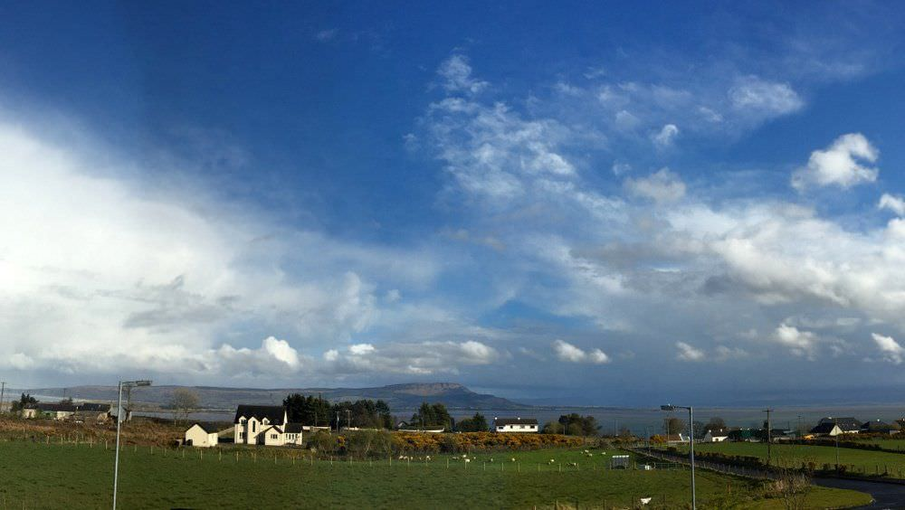The view from Crockaulin Drive Greencastle Inishowen