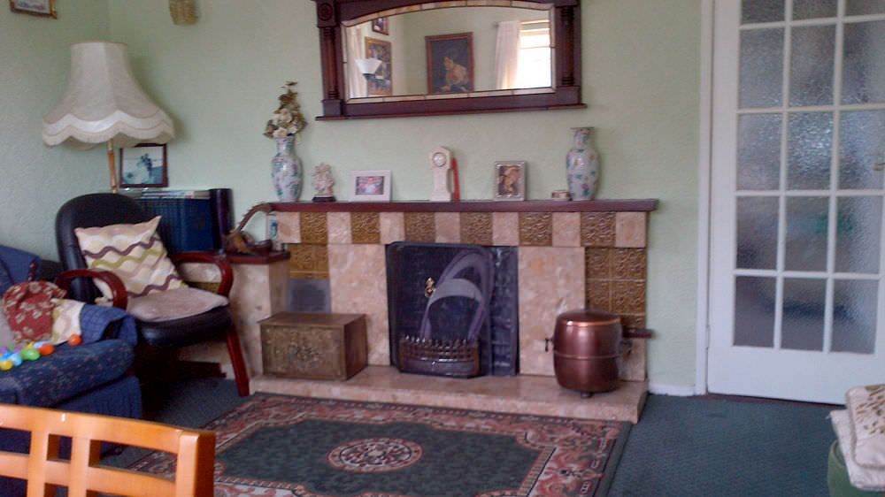 Living room of Iniscuil Holiday Home Bunbeg