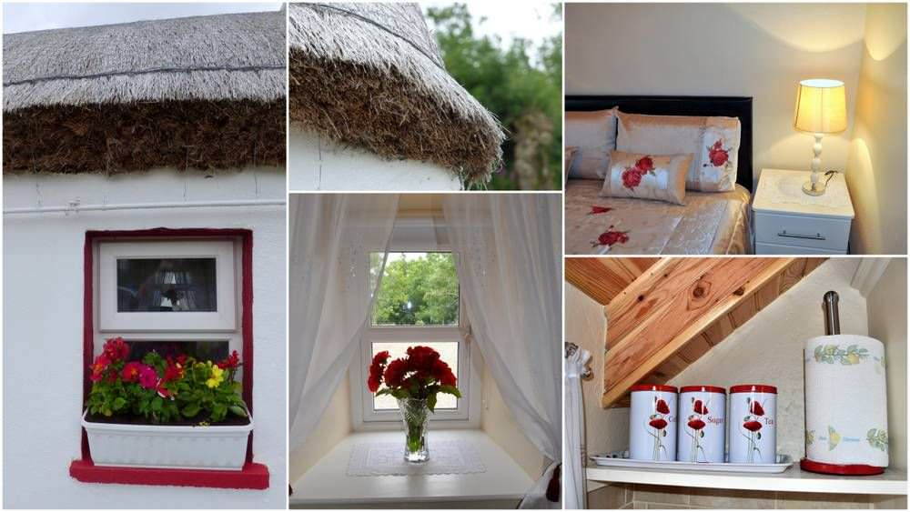 Brookside Traditional Cottage Inishowen - photo montage