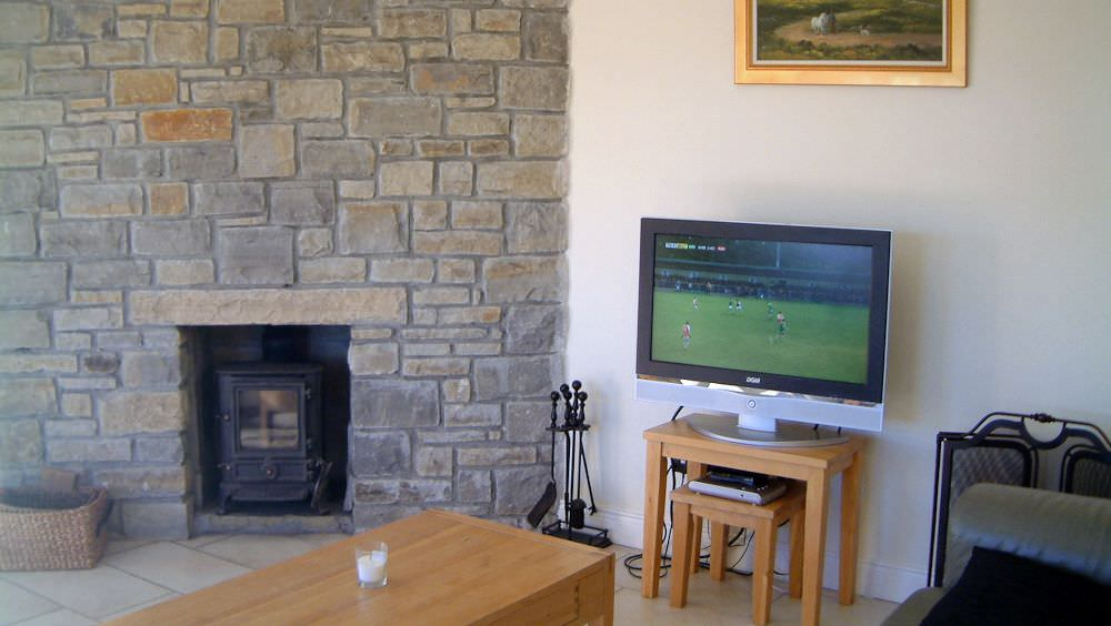Rossbeg Cottage Killybegs - living room