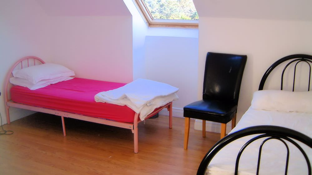 Rossbeg Cottage Killybegs - twin bedroom