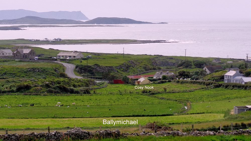 Cosy Nook - View above Ballymichael along the Wild Atlantic Way