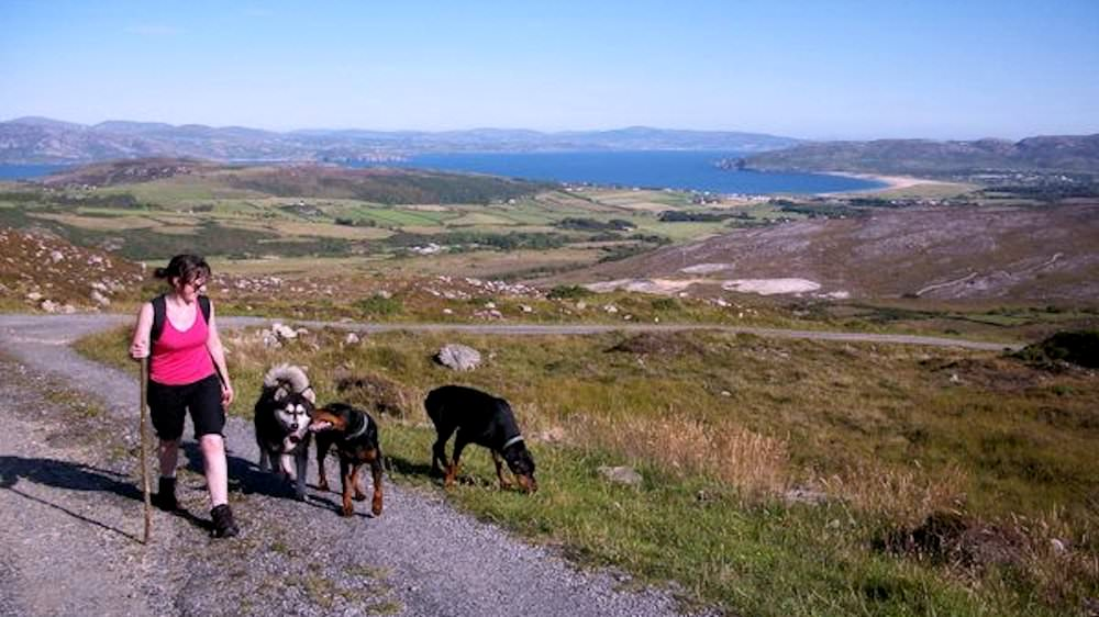 Hillwalking in Fanad