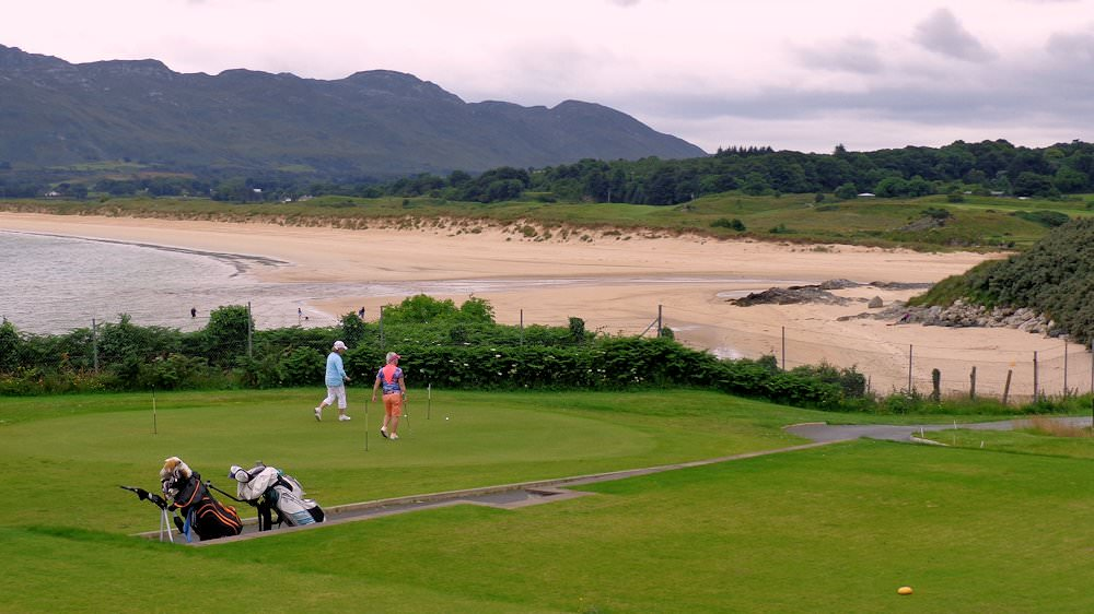 Portsalon Golf Links - 10 km from Cosy Nook
