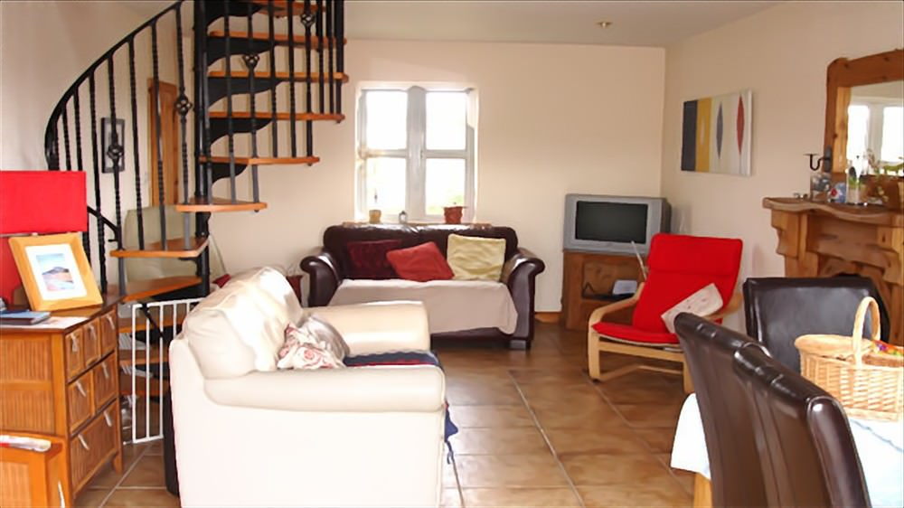 Living area - Cruit Island Cottage
