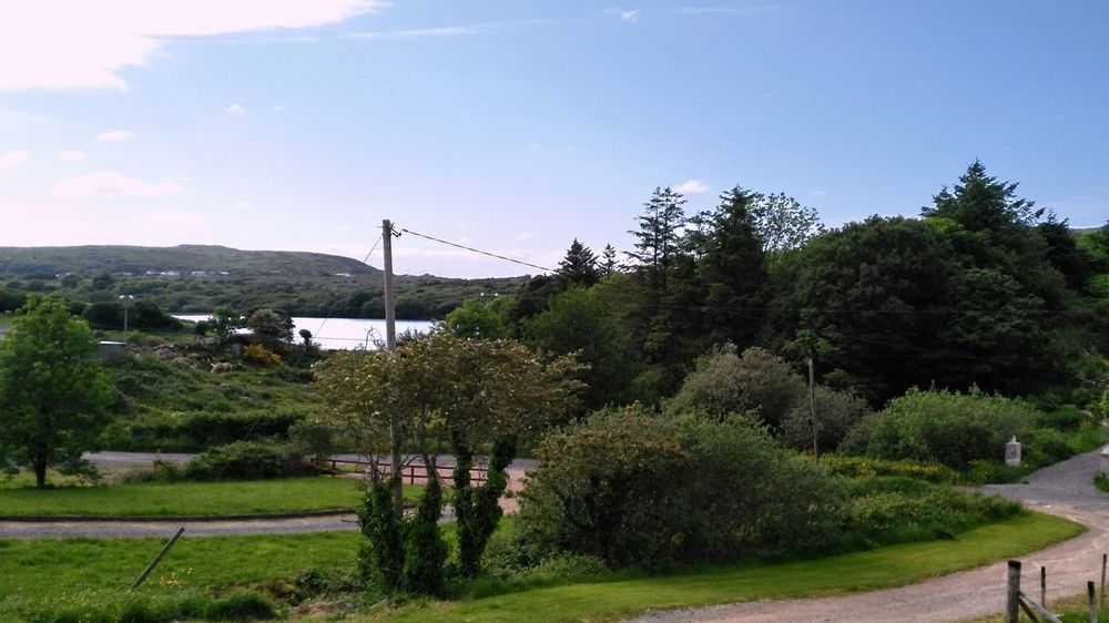 Loughfad Cottage Portnoo Donegal - view towards the lough