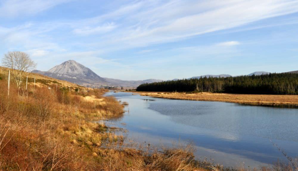 Teach Mhiley Dunlewey - Mount Errigal