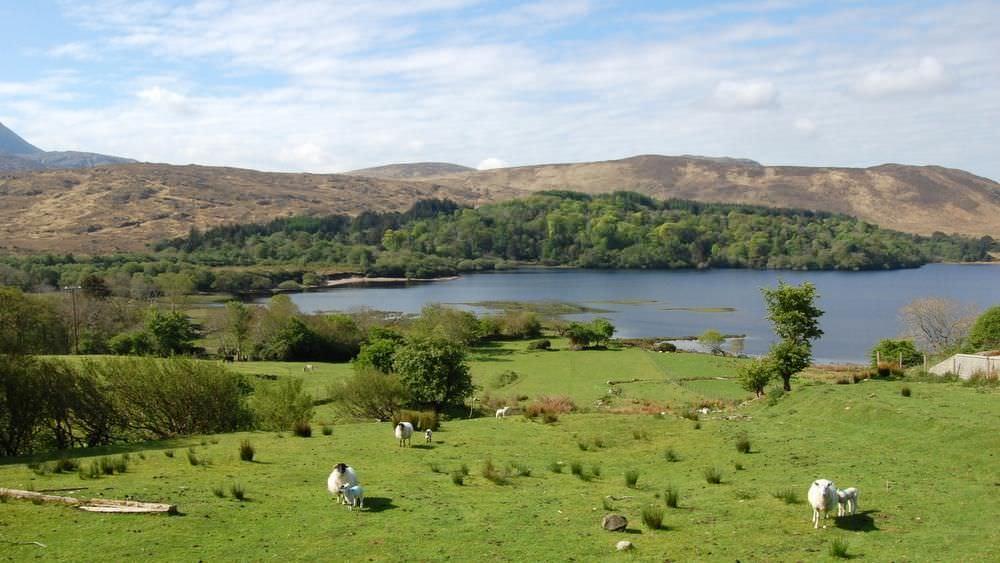 Teach Mhiley Dunlewey - the lake at Dunlewey