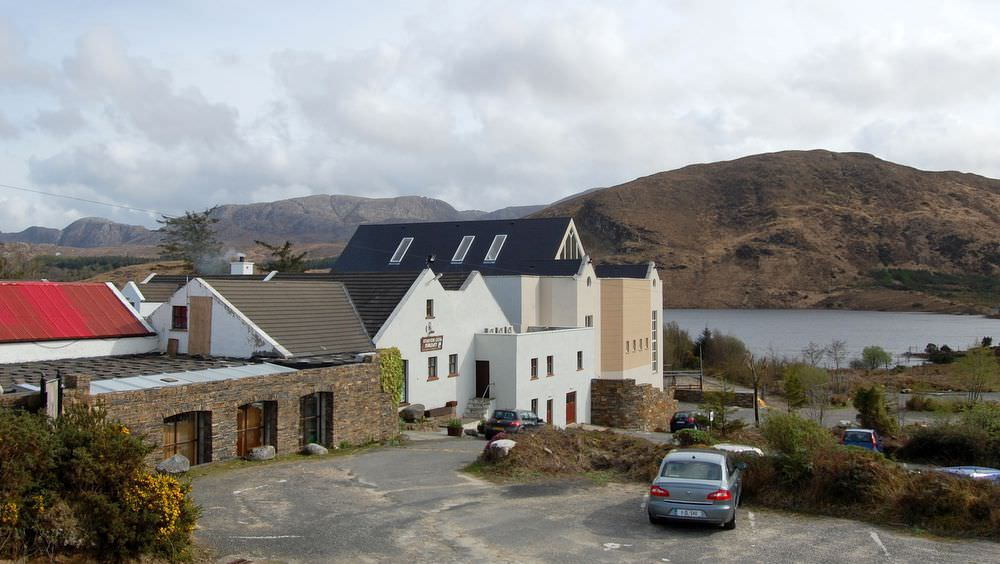 Teach Mhiley Dunlewey - the nearby Ionad Cois Locha