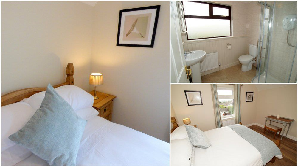 The Glebe House Donegal Town - bedroom collage
