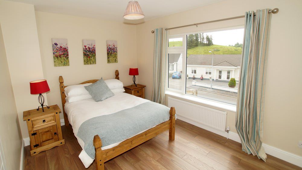 The Glebe House Donegal Town - double bedroom