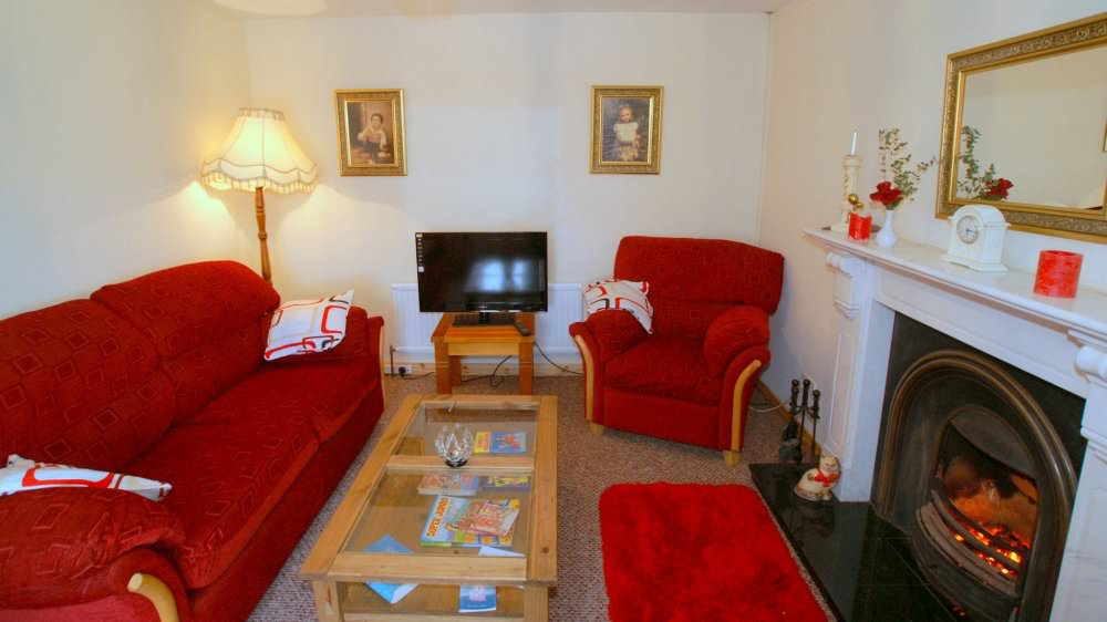 Mary Janes Cottage Ballyliffin living room