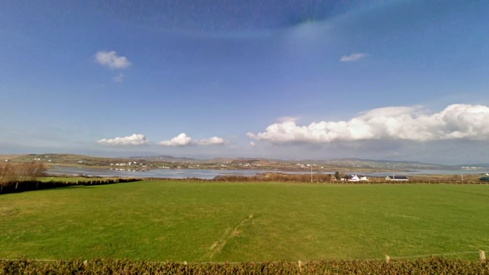 Mary Janes Cottage Ballyliffin - view to front