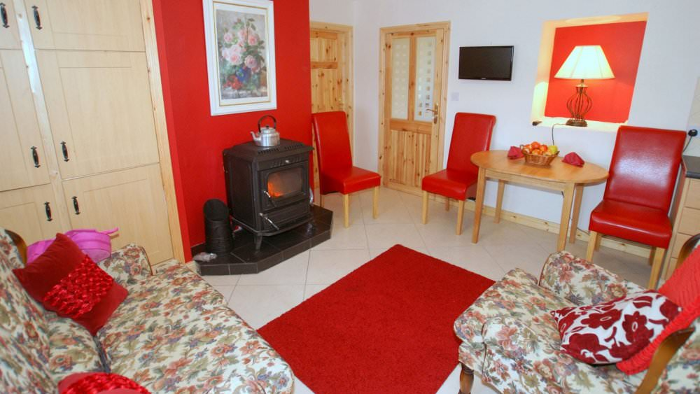 Mary Janes Cottage Ballyliffin - solid fuel stove