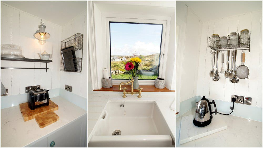 The Sea House Dungloe - interior collage
