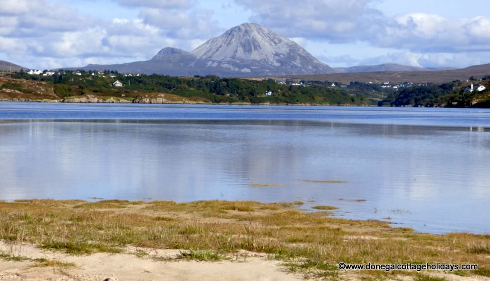 Dún a Dálaigh Annagry - A view of Errigal near Annagry