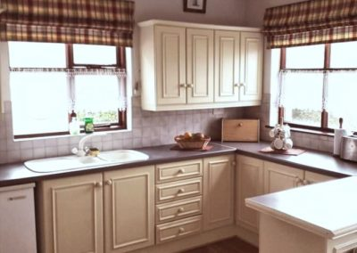 Kitchen of Fahan Cottage