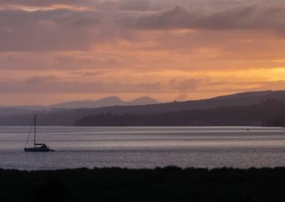Evening over Lough Swilly