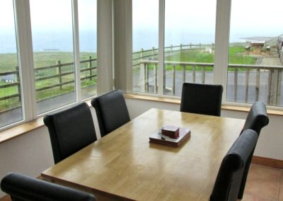 Brinlack Cottage Donegal - sea views from the sunroom