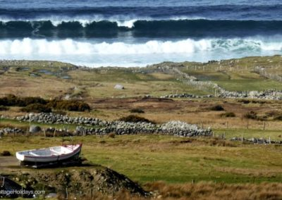 Brinlack Cottage Donegal - the coastline at Bloody Foreland